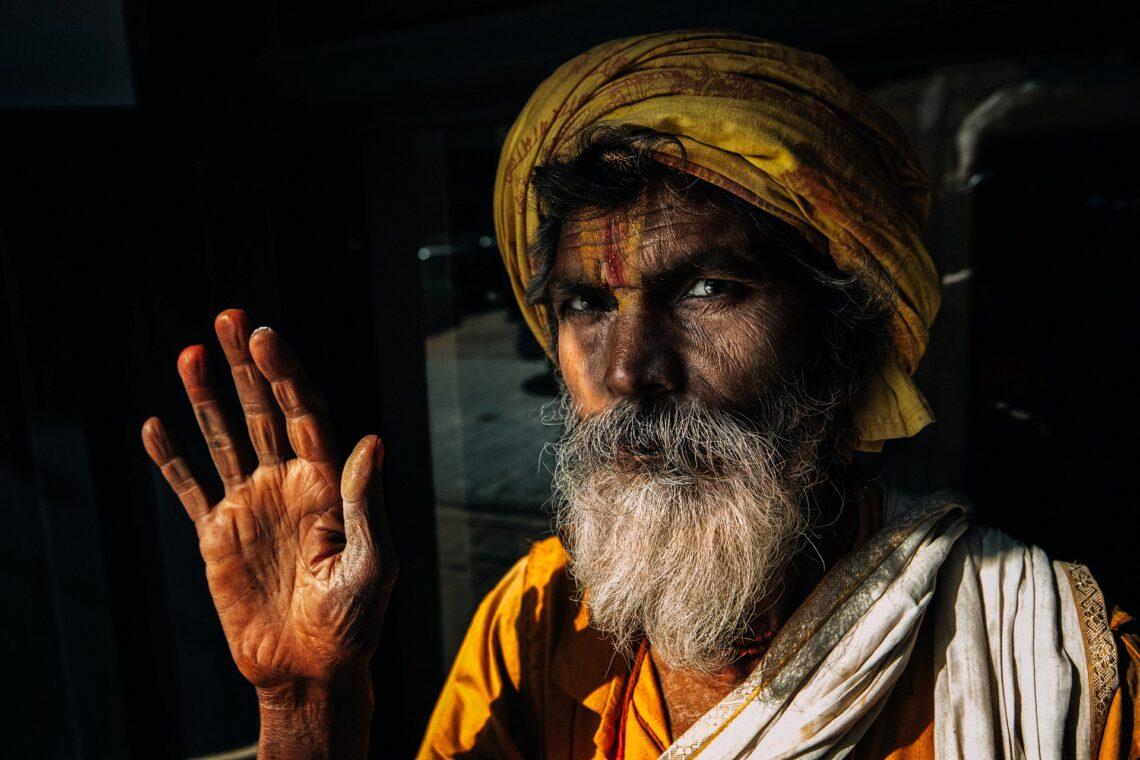 Foto eines indischen Mannes